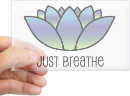 Amazon Com Cafepress Just Breathe Rectangle Sticker Rectangle Bumper Sticker Car Decal Home Kitchen