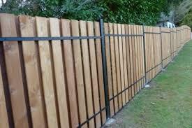 Aluminum Cedar Fence