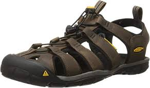 clearwater cnx leather sandal