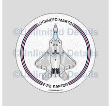 F 22 Raptor Decal