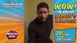 Abdullah Afzal at The Super Muslim Comedy Tour 2017! - Penny ...