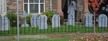Halloween Addiction Wrought Iron Pvc Fencing