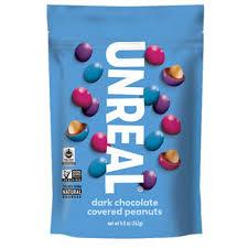 unreal dark chocolate peanut gems 5