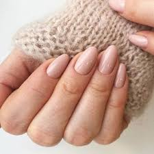 short almond acrylic nails in 2020