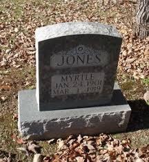 Myrtle Jones (1901-1919) - Find A Grave Memorial