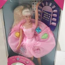 1997 barbie twirlin makeup toys