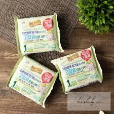 Phô Mai Tách Muối Hữu Cơ Hàn Quốc De Vinch Cho Bé Ăn Dặm | HaoBaby - An tâm  mua sắm đồ cho bé