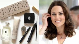 kate middleton makeup bag rosy look