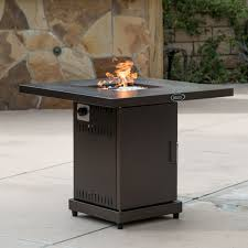 bond vineyard propane firepit table