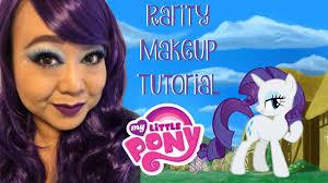 my little pony rarity makeup tutorial