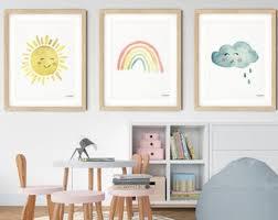 Rainbow Kids Room Etsy