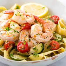 Shrimp Pasta with Lemon Garlic Sauce ...