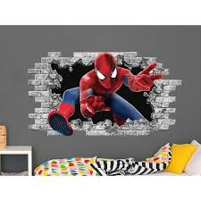 Shop Spiderman Hole In The Wall Decal Overstock 31721956