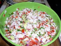 Armida Cooks!: Imitation Crab Meat Ceviche