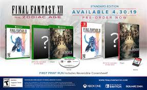 Final Fantasy XII: The Zodiac Age first ...