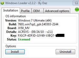 Windows 7 Loader Activator Team DAZ Full Download