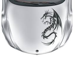 Dragon Sticker Decal 2 Vinyl Tribal Henna Tattoo Car Bike Etsy