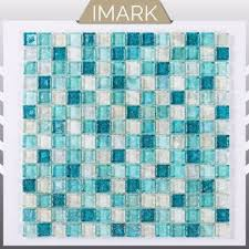 iridescent glass mosaic for