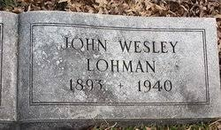 John Wesley Lohman (1893-1940) - Find A Grave Memorial