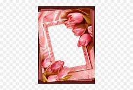 flower photo frames nice heart photo