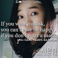 quotes about drama masks quotes