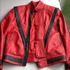 thriller leather jacket michael jackson