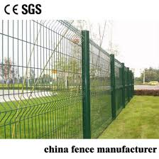 China Low Carbon Iron Wire Pvc Coated Galvanized Security 3d Curvy Wire Mesh Fence China Fencing Pvc Coated