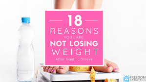 18 reasons you re not losing weight