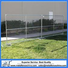 China Galvanized Portable Chain Link Movable Temporary Fencing Panels China Temporary Fence Galvanized Temporary Fence