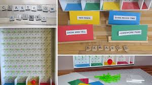 make a classroom plinko board for