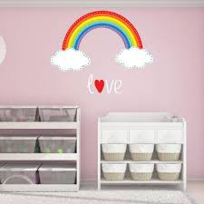 Rainbow Stitch Wall Decal Style And Apply