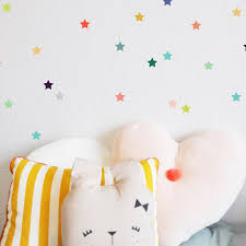 Bubble Gum Tiny Star Wall Decal Child Wall Art Dot Wall Decal Kids Room Decor Star Wall Decals Kids Wall Decals Wall Stickers Room