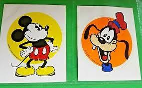 Goofy Handstand Disney Sticker Wall Decor Large Vinyl Decal Contemporary 1968 Now 11 X 9 Collectibles Disneyana