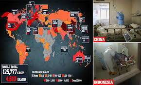 Coronavirus classed as pandemic by ...