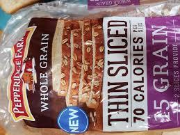 whole grain bread nutrition facts