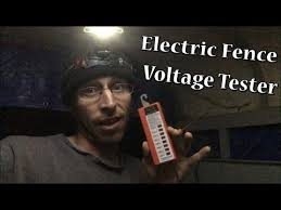 Zareba Voltage Tester For Electric Fence Youtube