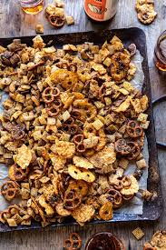 y ranch chex mix half baked harvest