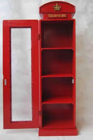retro london telephone box mirror