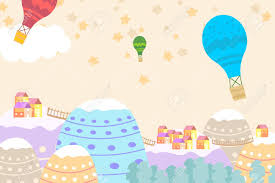 Graphic Illustration For Kids Room Wallpaper With House Sky Full Royalty Free Cliparts Vectors And Stock Illustration Image 123885120