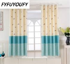 1pc 11 Color Short Curtain Half Shade Curtains For The Bedroom Fancy Children Modern Curtains For Living Room Kids Tulle Curtain In 2020 Curtains Living Room Kids Room Curtains Modern Curtains
