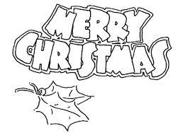 Kerst Kleurplaat Kerstmis Merrychristmas Medium De Mooiste