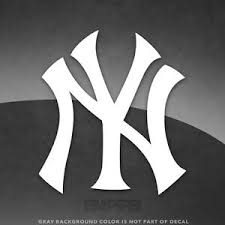 New York Yankees Ny Vinyl Decal Sticker 4 And Larger Sizes Available Mlb Ebay