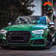 2019 New Olive Green Glossy Crystal Vinyl Wrap Car Sticker Vehicle Autos Motorbike Gloss Wrapping Foil With Air Release Car Stickers Aliexpress