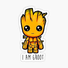 Groot Stickers Redbubble