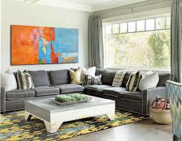 large horizontal art canvas painting