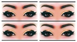 y black gold makeup tutorial