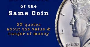 quotes on the value and danger of money bplans