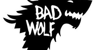 Vinyl Decal Sticker Bad Wolf Decal For Windows Cars Laptops Macbook Yeti Coolers Mugs Etc Bad Wolf Doctor Who Bad Wolf Wolf