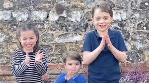 Coronavirus: Royal children join nation ...