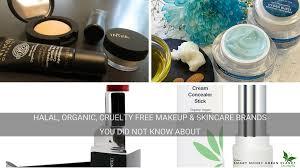 halal organic makeup skincare brands